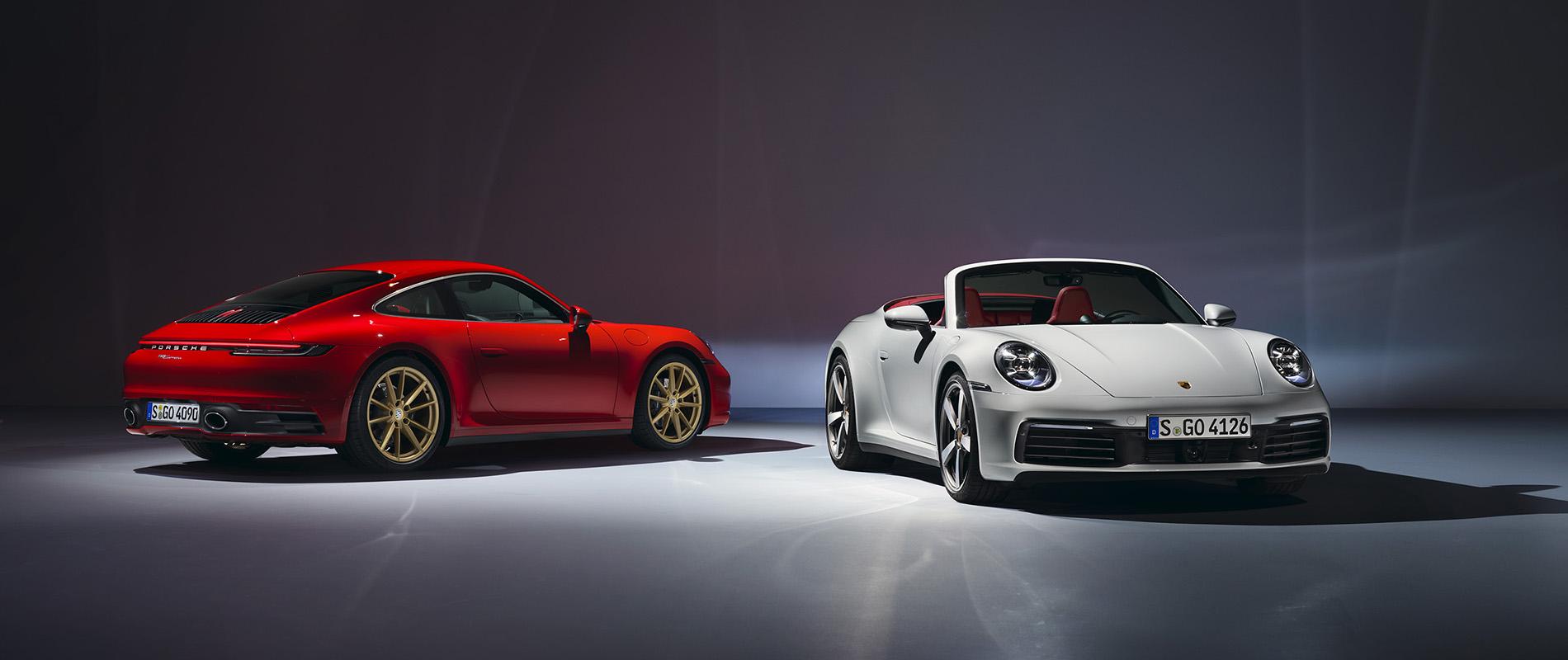 Porsche giới thiệu 911 Carrera Coupé và 911 Carrera Cabriolet mới - 0