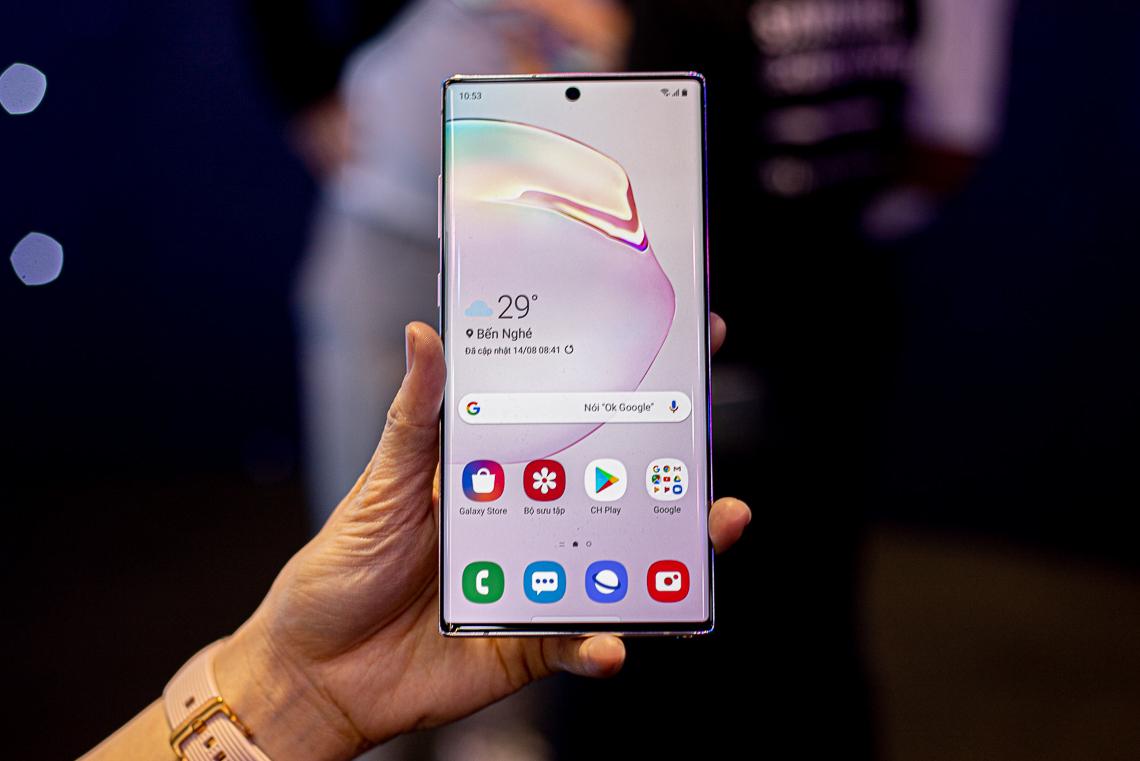 Samsung ra mắt bộ đôi Galaxy Note10 và Note10+ tại Việt Nam, giá từ 23 triệu đồng 8