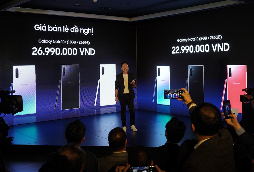 Samsung ra mắt bộ đôi Galaxy Note10 và Note10+ tại Việt Nam, giá từ 23 triệu đồng 23