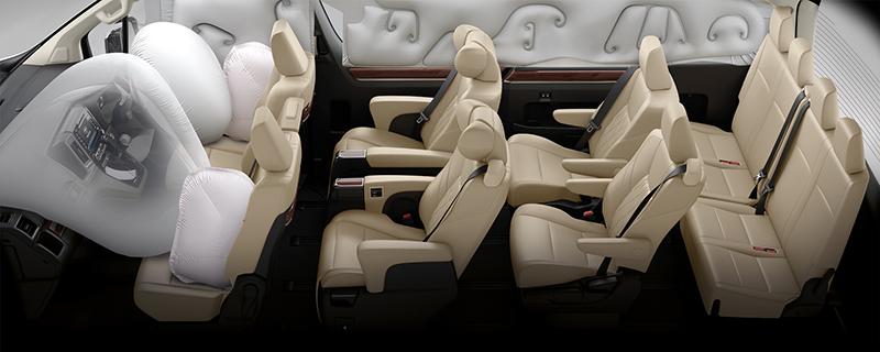 Toyota Majesty 2019 vừa ra mắt tại Thái Lan, mẫu xe gia đình cao cấp nhất 15