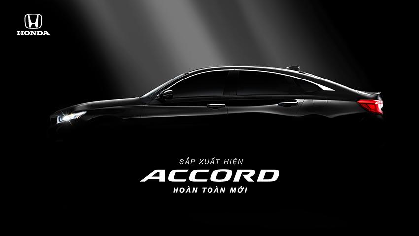 Honda Accord chuẩn bị ra mắt vào tháng 10 tại thị trường Việt Nam - 0