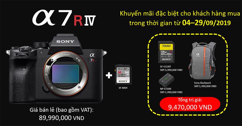 Sony A7R IV ra mắt tại Việt Nam với giá 90 triệu, quà tặng hơn 9 triệu - 03