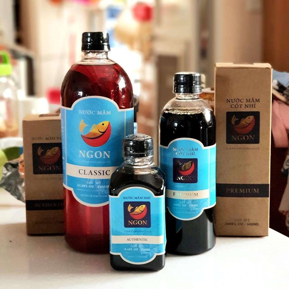 Nhóm sản phẩm thương hiệu Vietnamfishsauce.