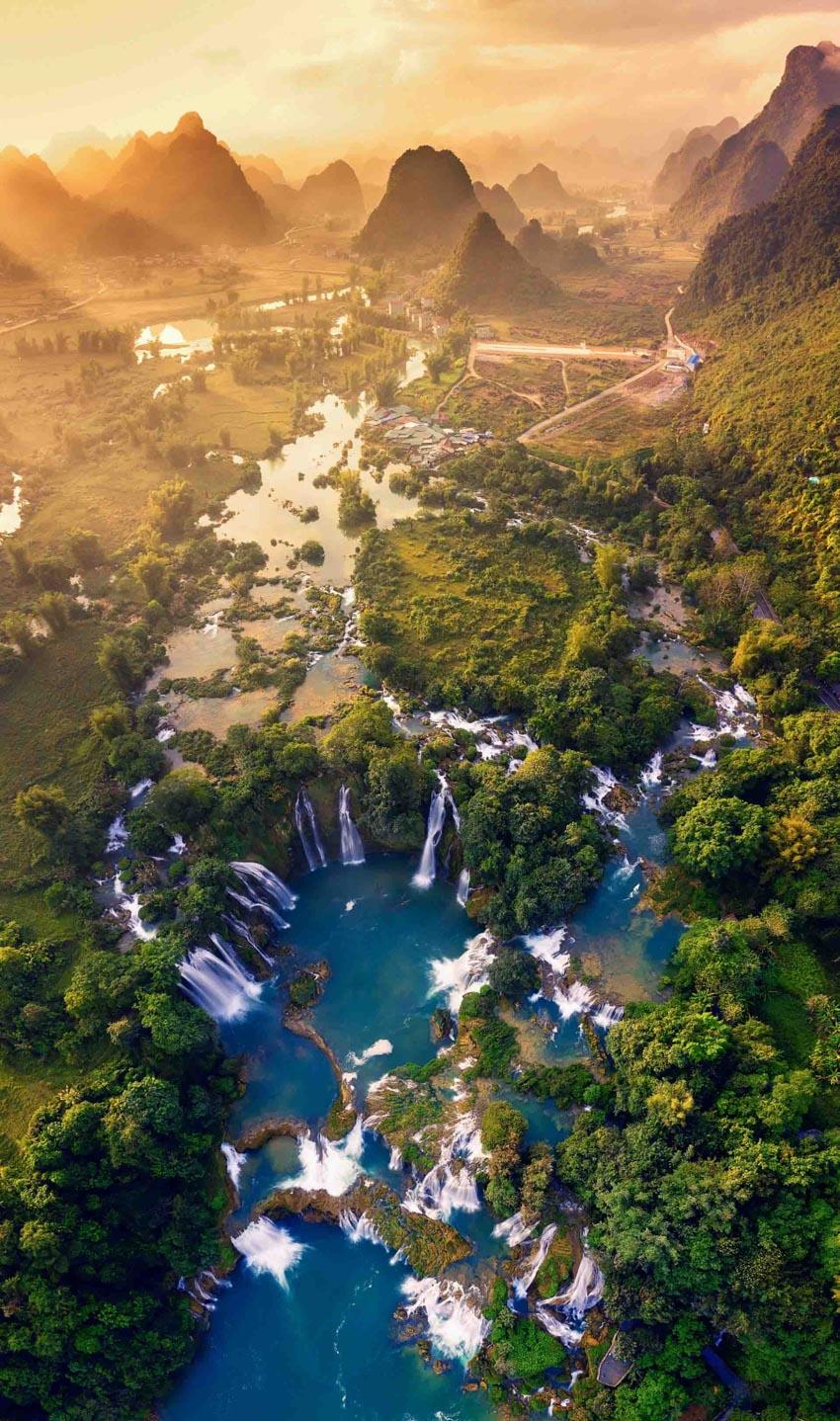 Ngắm vẻ đẹp mê hồn của Việt Nam nhìn từ trên cao - 1