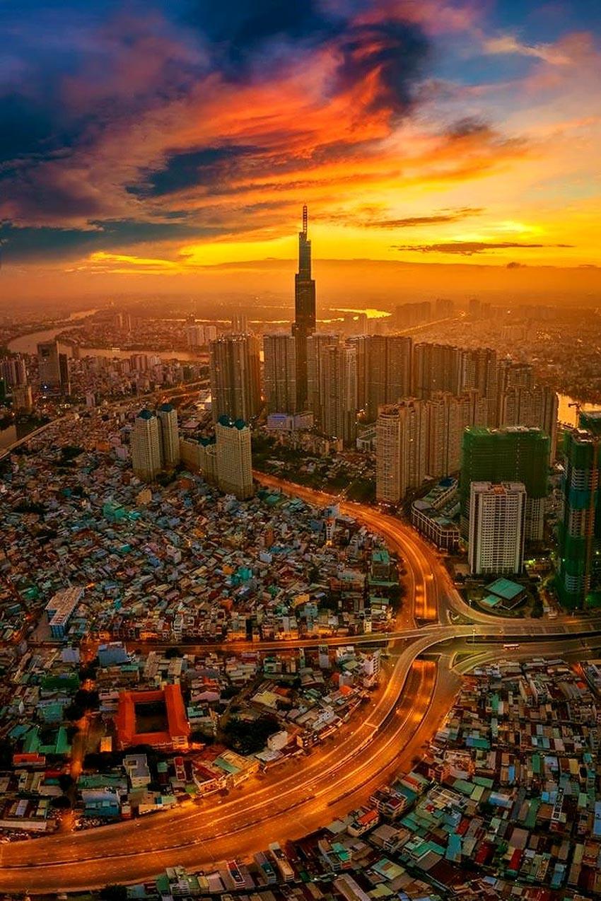 Ngắm vẻ đẹp mê hồn của Việt Nam nhìn từ trên cao - 2