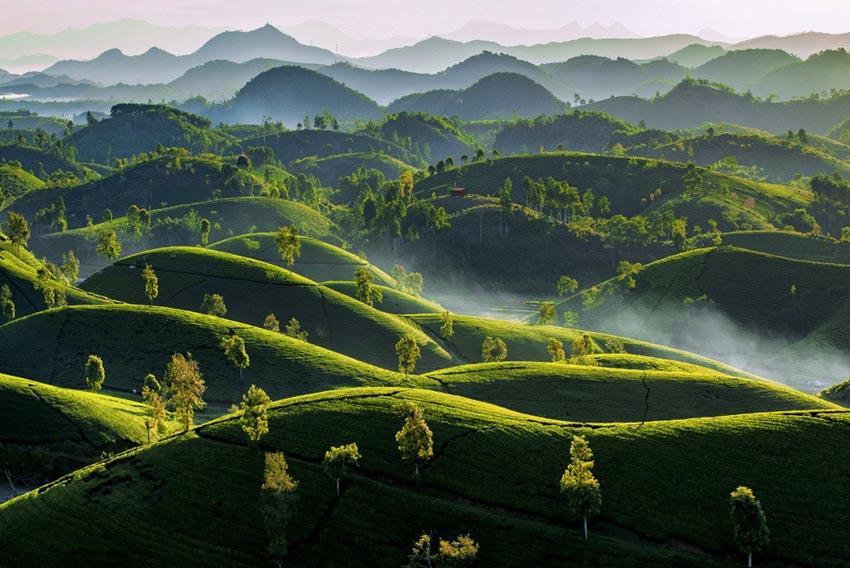 Ngắm vẻ đẹp mê hồn của Việt Nam nhìn từ trên cao - 4