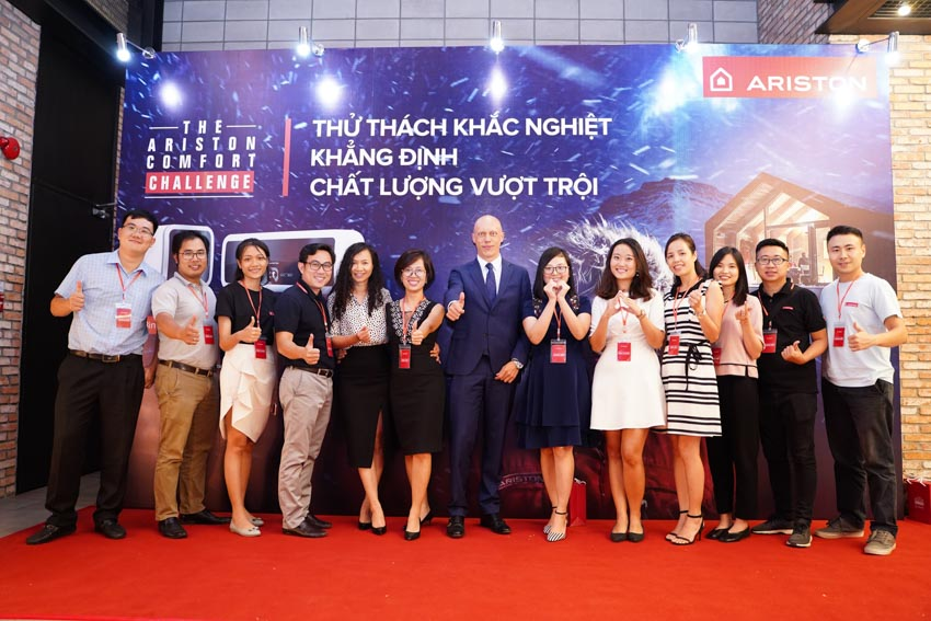 """Ariston công bố chiến dịch truyền thông toàn cầu """"The Ariston Comfort Challenge"""" tại Việt Nam - 2"""