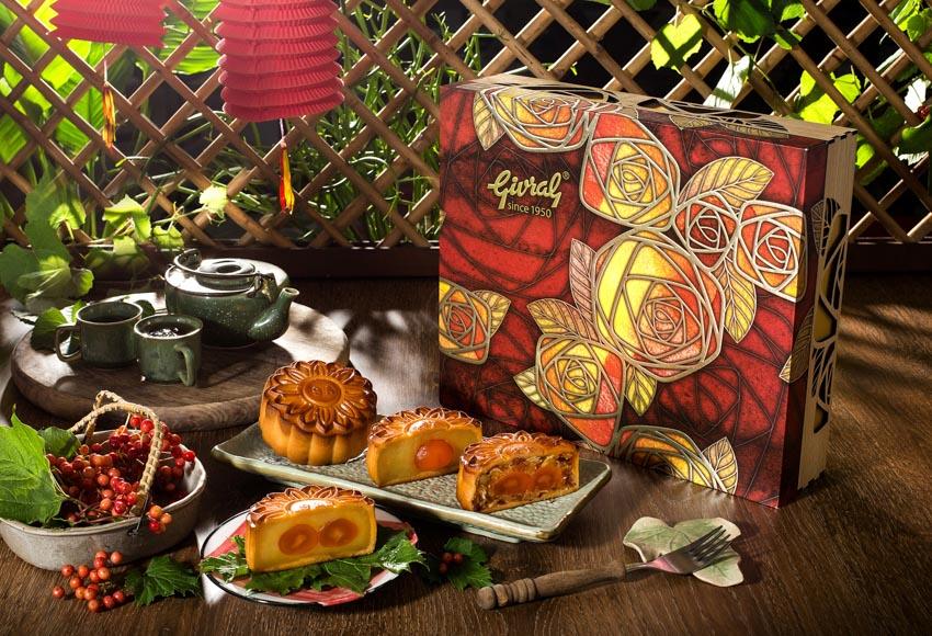 Bánh trung thu Givral – kết hợp hài hòa hiện đại với truyền thống trong đóa hoa hồng - 1