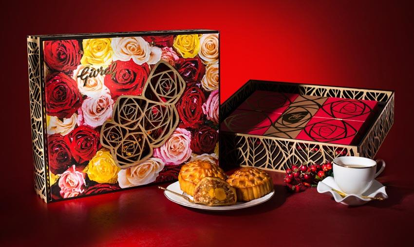 Bánh trung thu Givral – kết hợp hài hòa hiện đại với truyền thống trong đóa hoa hồng - 5