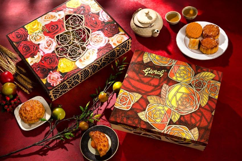 Bánh trung thu Givral – kết hợp hài hòa hiện đại với truyền thống trong đóa hoa hồng - 7