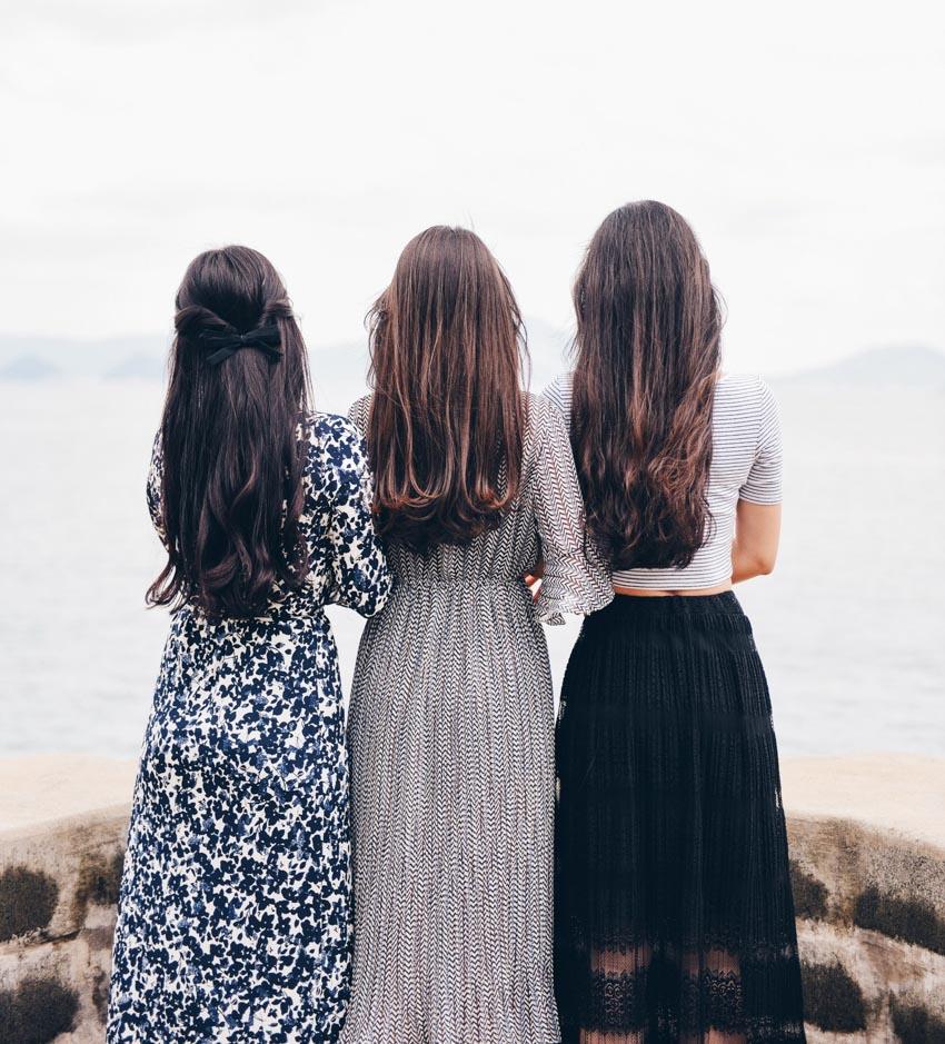 Các kiểu nối tóc và chăm sóc tóc nối - 13