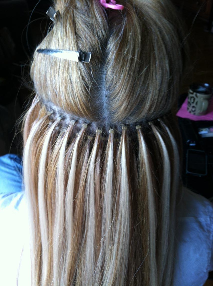 Các kiểu nối tóc và chăm sóc tóc nối - 14