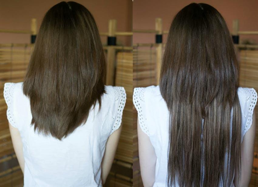 Các kiểu nối tóc và chăm sóc tóc nối - 20