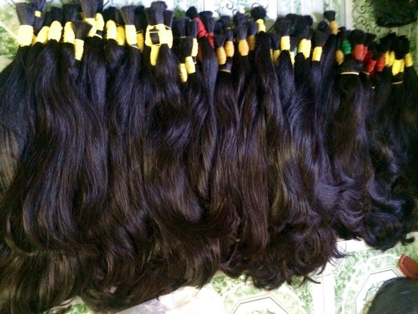 Các kiểu nối tóc và chăm sóc tóc nối - 6