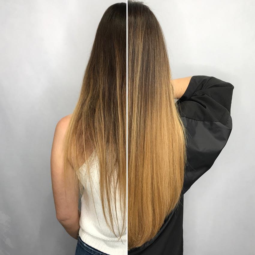 Các kiểu nối tóc và chăm sóc tóc nối - 7