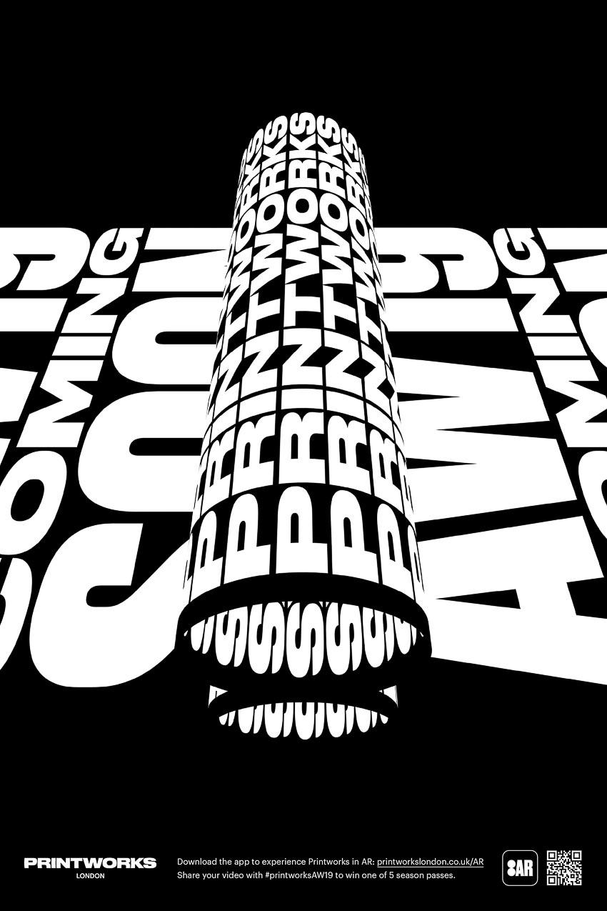 Sử dụng thực tế ảo tăng cường để tạo quảng cáo typography 3D động - 3
