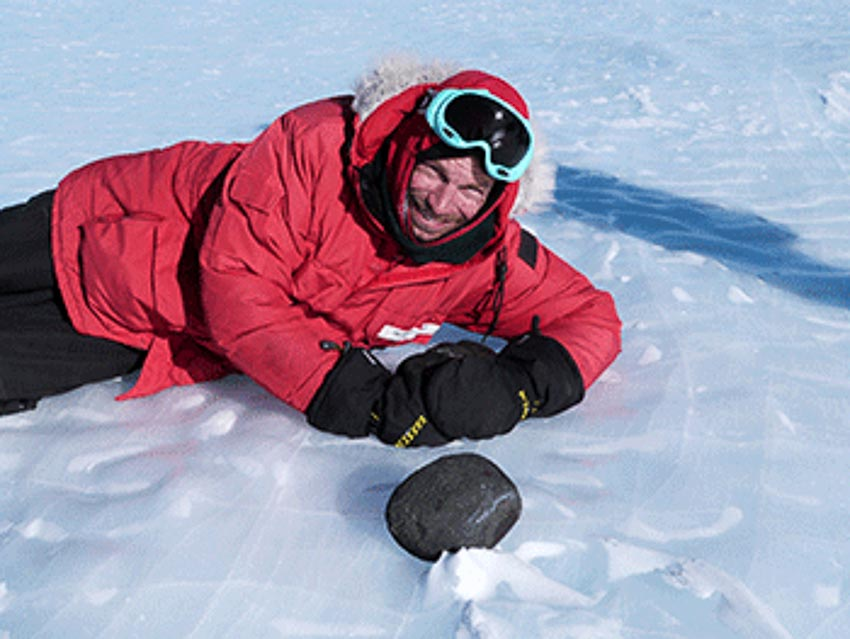 Đến Nam cực săn thiên thạch - 2