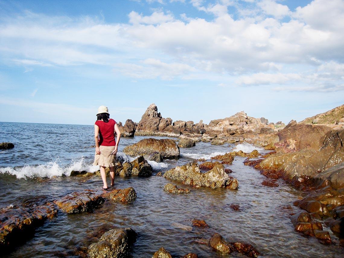 Đèo Đá Nhảy, vẻ đẹp độc đáo của biển Quảng Bình - 5