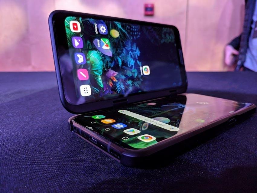 Lộ diện điện thoại LG 5G màn hình kép - 3