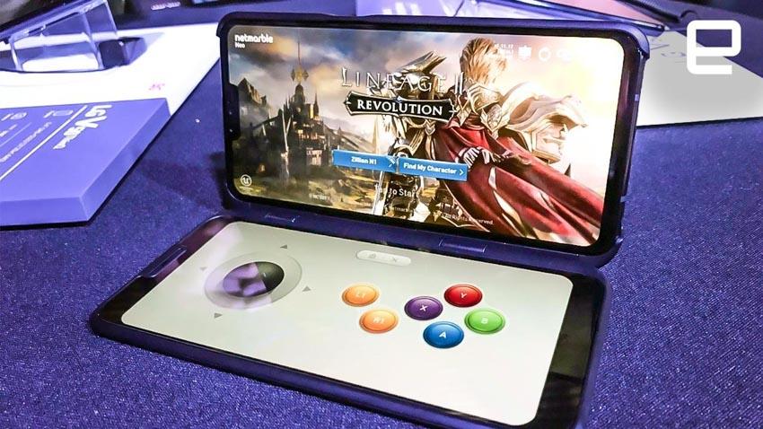 Lộ diện điện thoại LG 5G màn hình kép - 6