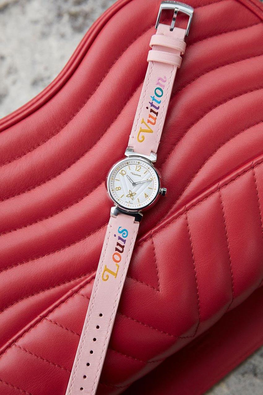 Louis Vuitton cải tiến chiếc đồng hồ Tambour đặc trưng - 3