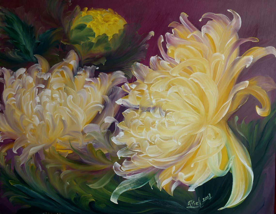 Họa sĩ Trần Thùy Linh: Theo đuổi hội họa rất cần vốn sống và sự chiêm nghiệm -14