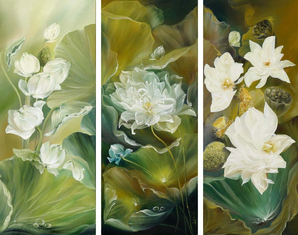 Họa sĩ Trần Thùy Linh: Theo đuổi hội họa rất cần vốn sống và sự chiêm nghiệm -18