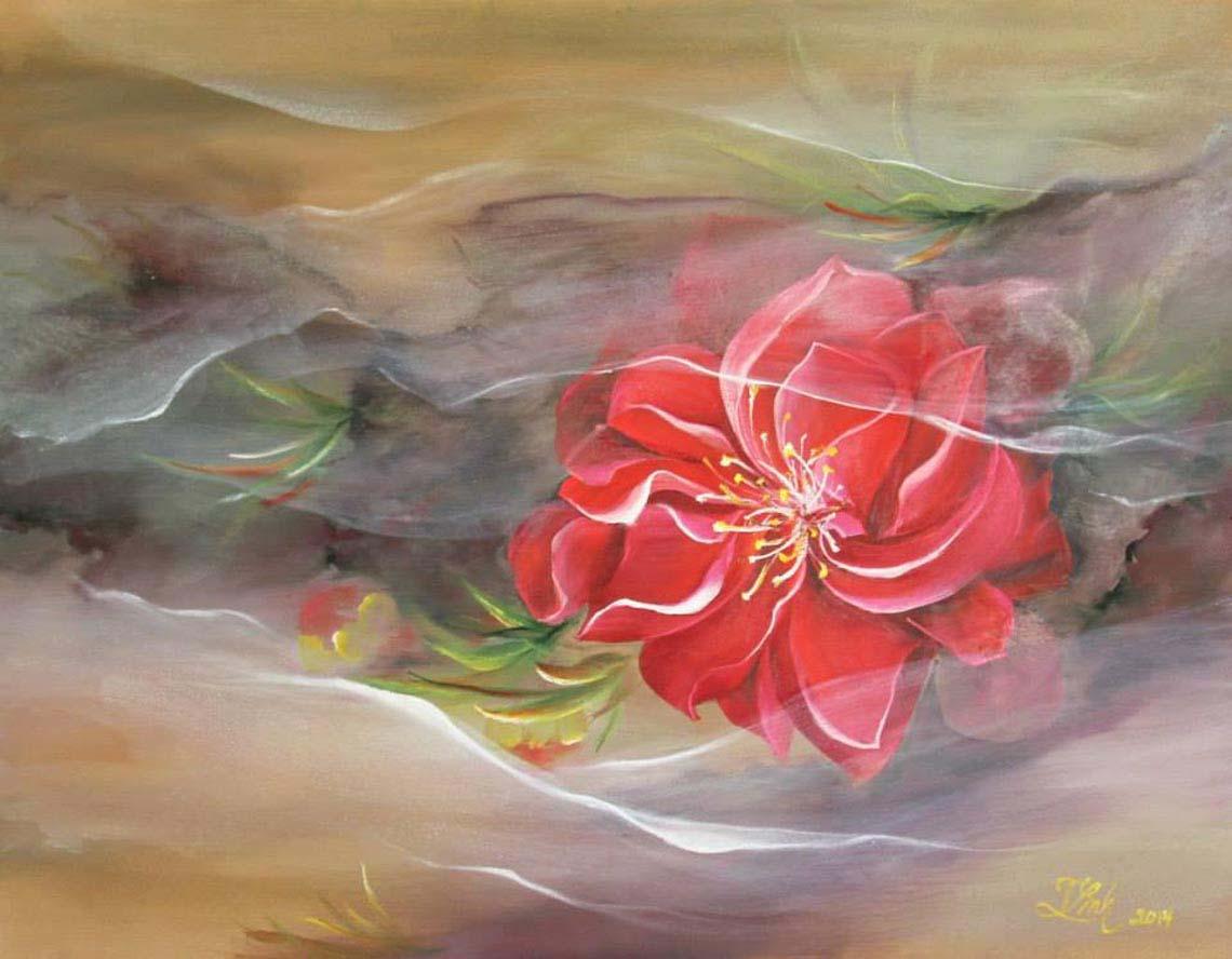 Họa sĩ Trần Thùy Linh: Theo đuổi hội họa rất cần vốn sống và sự chiêm nghiệm -15