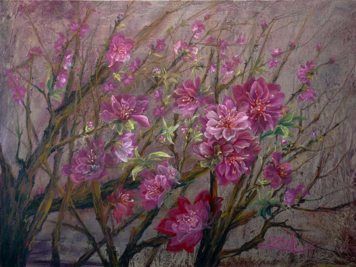 Họa sĩ Trần Thùy Linh: Theo đuổi hội họa rất cần vốn sống và sự chiêm nghiệm -16