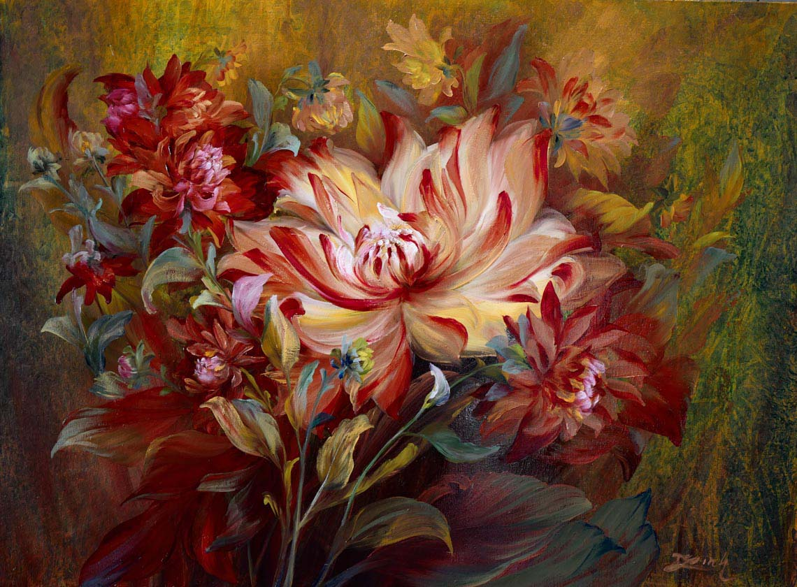 Họa sĩ Trần Thùy Linh: Theo đuổi hội họa rất cần vốn sống và sự chiêm nghiệm -17