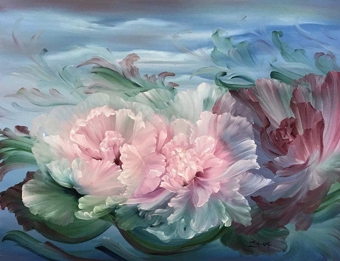 Họa sĩ Trần Thùy Linh: Theo đuổi hội họa rất cần vốn sống và sự chiêm nghiệm -26