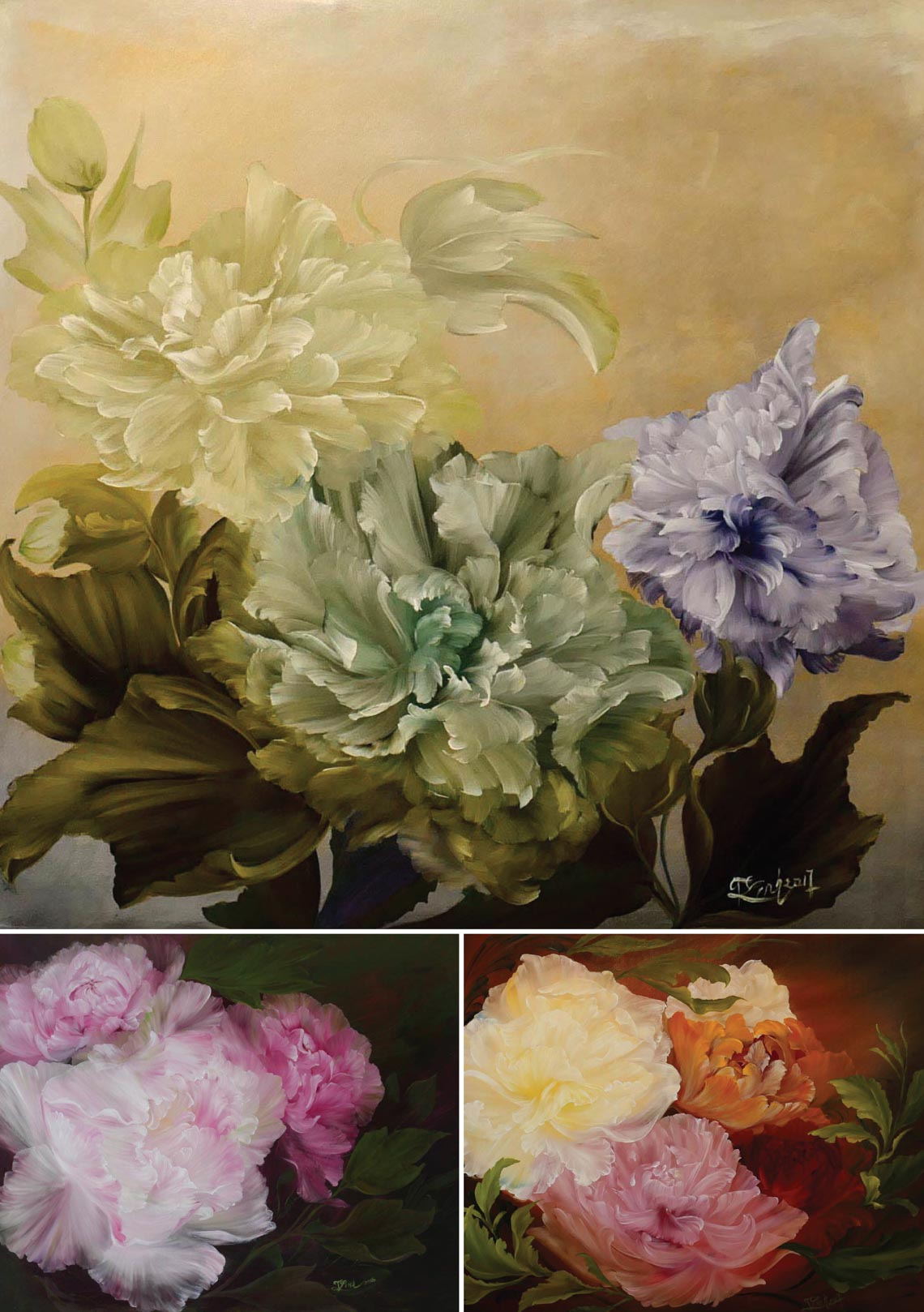 Họa sĩ Trần Thùy Linh: Theo đuổi hội họa rất cần vốn sống và sự chiêm nghiệm -31