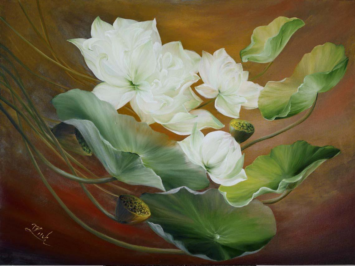 Họa sĩ Trần Thùy Linh: Theo đuổi hội họa rất cần vốn sống và sự chiêm nghiệm -38