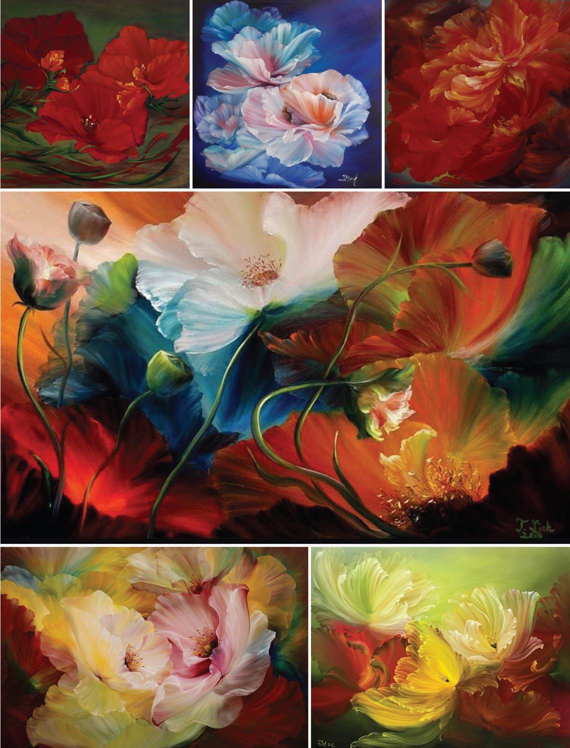 Họa sĩ Trần Thùy Linh: Theo đuổi hội họa rất cần vốn sống và sự chiêm nghiệm -45