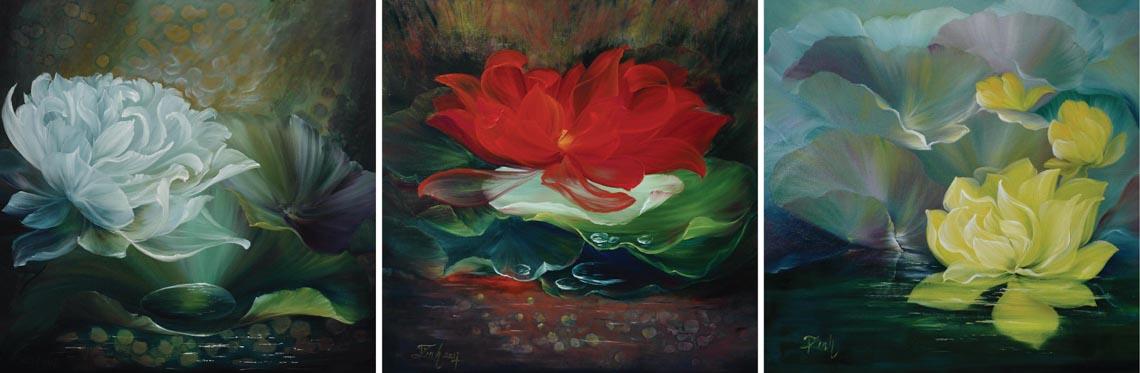 Họa sĩ Trần Thùy Linh: Theo đuổi hội họa rất cần vốn sống và sự chiêm nghiệm -33