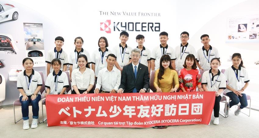 Kyocera tổ chức Giao lưu văn hóa dành cho học sinh Việt Nam tại Nhật Bản - 1