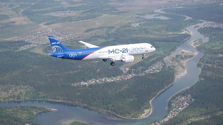 Máy bay thương mại MC-21 hứa hẹn là đối thủ của Boeing và Airbus - 3
