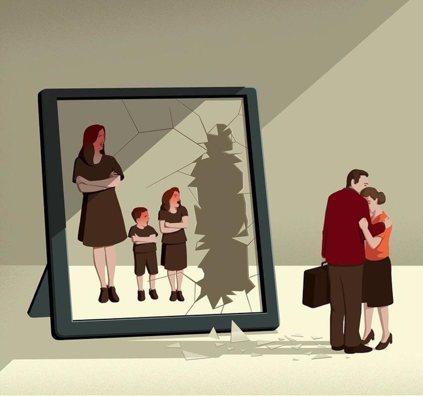 Những minh họa cuộc sống hiện đại khiến tim bạn thổn thức - 15