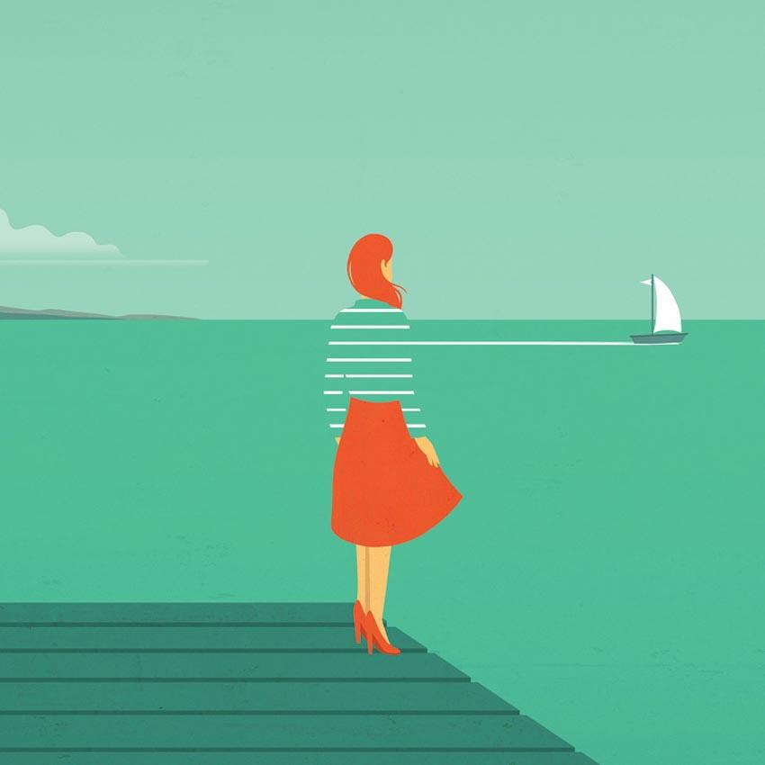 Những minh họa cuộc sống hiện đại khiến tim bạn thổn thức - 9