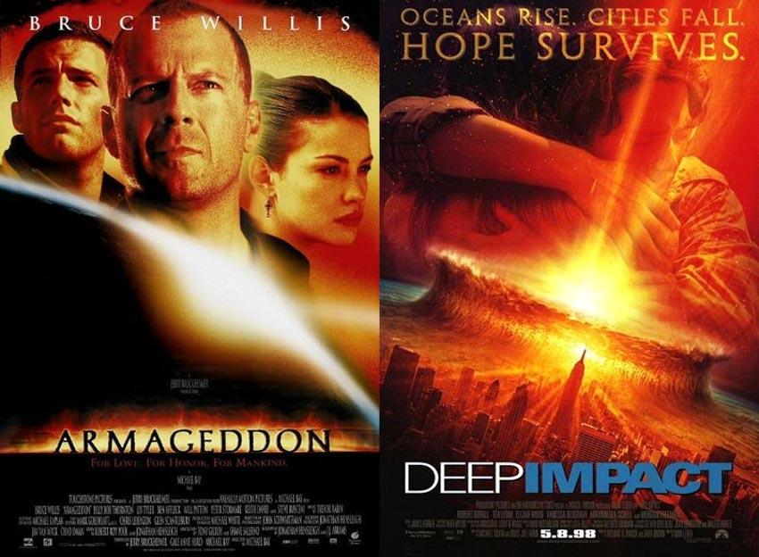 Những bộ phim sinh đôi ở hollywood - 2