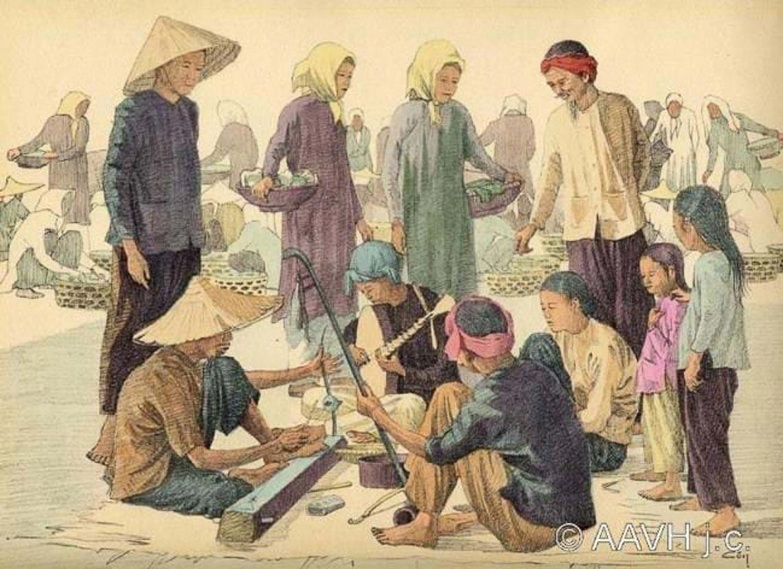Những bức tranh ký sinh động về người Nam Bộ xưa - 2