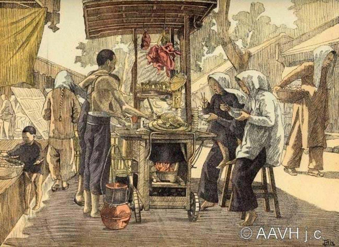Những bức tranh ký sinh động về người Nam Bộ xưa - 5