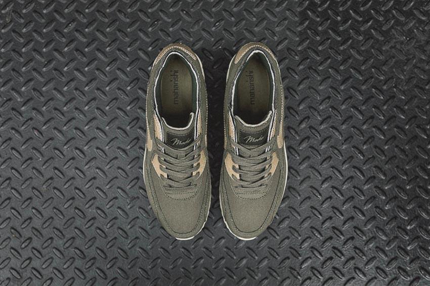 Nike và Maharishi hợp tác ra mắt giày Vegan Nike Air Max 90 - 7