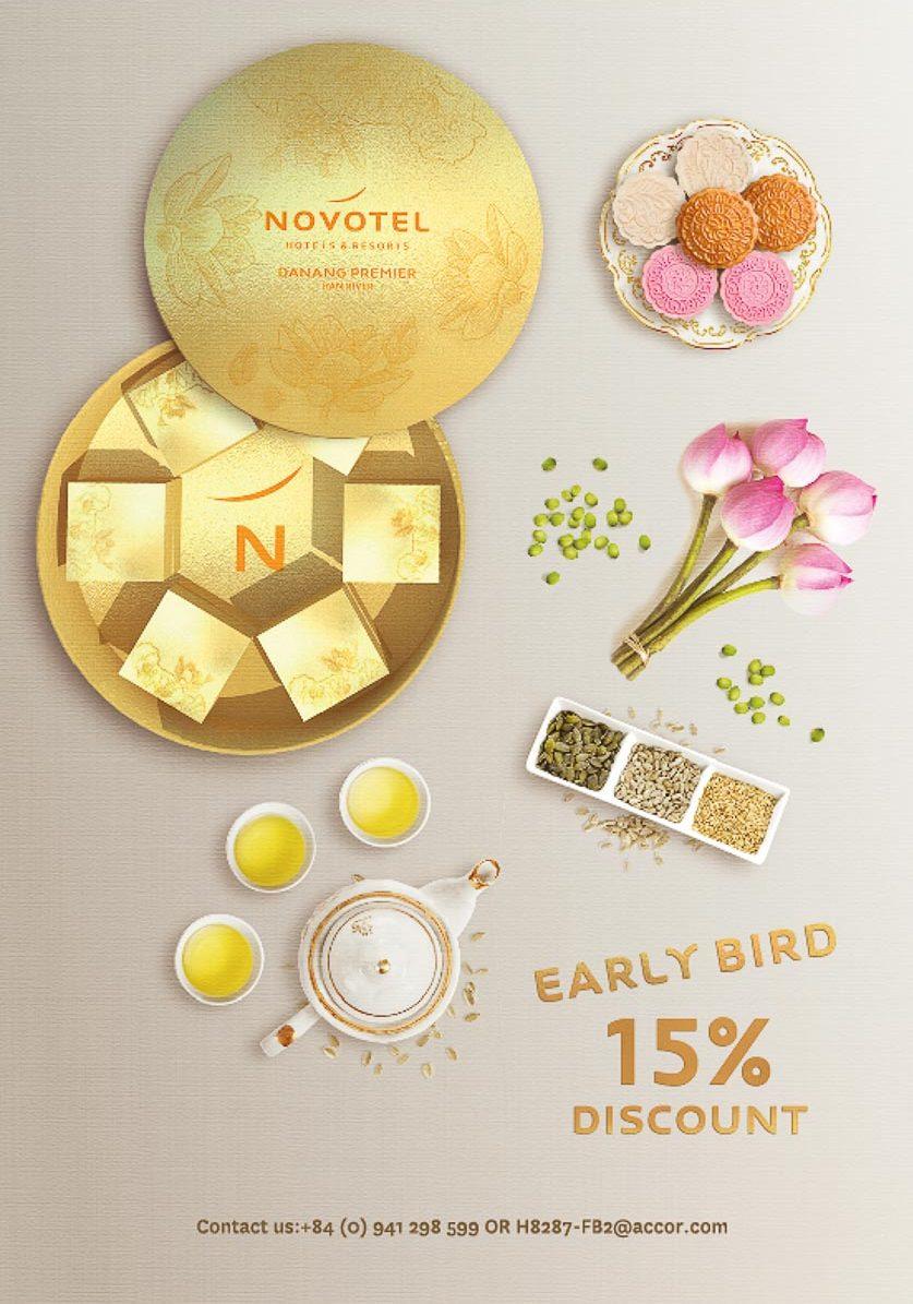 Novotel Đà Nẵng giảm giá 15% Bánh trung thu - 6