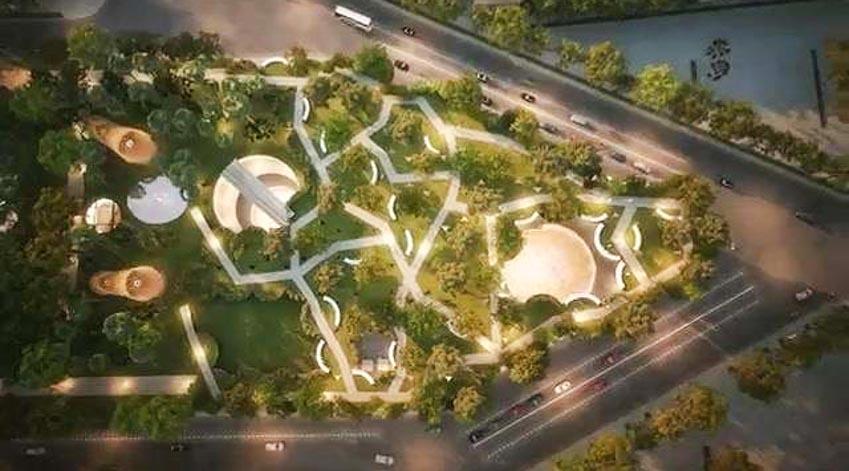 Phương án thiết kế Công viên 23 tháng 9 qua hai thiết kế đoạt giải - 10