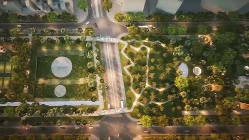 Phương án thiết kế Công viên 23 tháng 9 qua hai thiết kế đoạt giải - 11