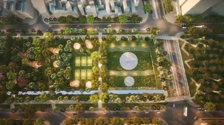 Phương án thiết kế Công viên 23 tháng 9 qua hai thiết kế đoạt giải - 12