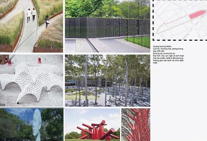 Phương án thiết kế Công viên 23 tháng 9 qua hai thiết kế đoạt giải - 5