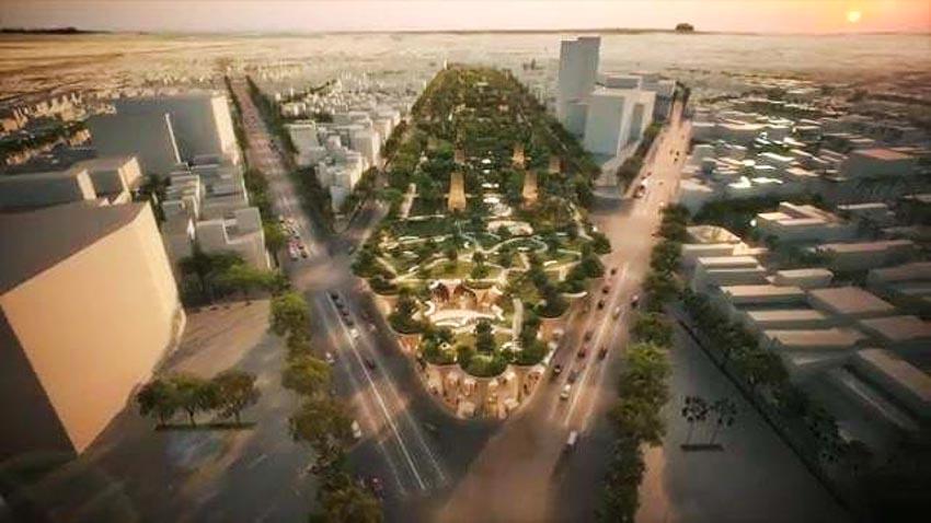 Phương án thiết kế Công viên 23 tháng 9 qua hai thiết kế đoạt giải - 9
