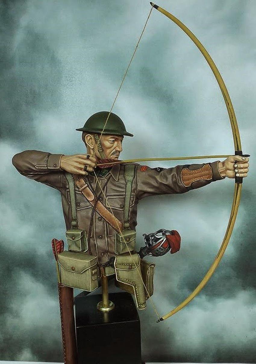 Sĩ quan chỉ chiến đấu với thanh kiếm và cung tên - 7